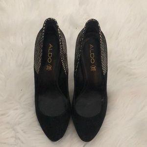 Aldo Shoes - Black fancy shoes